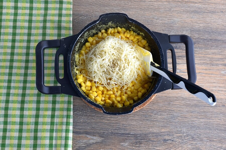 Sweet Corn Polenta and Tomato Salad recipe - step 2