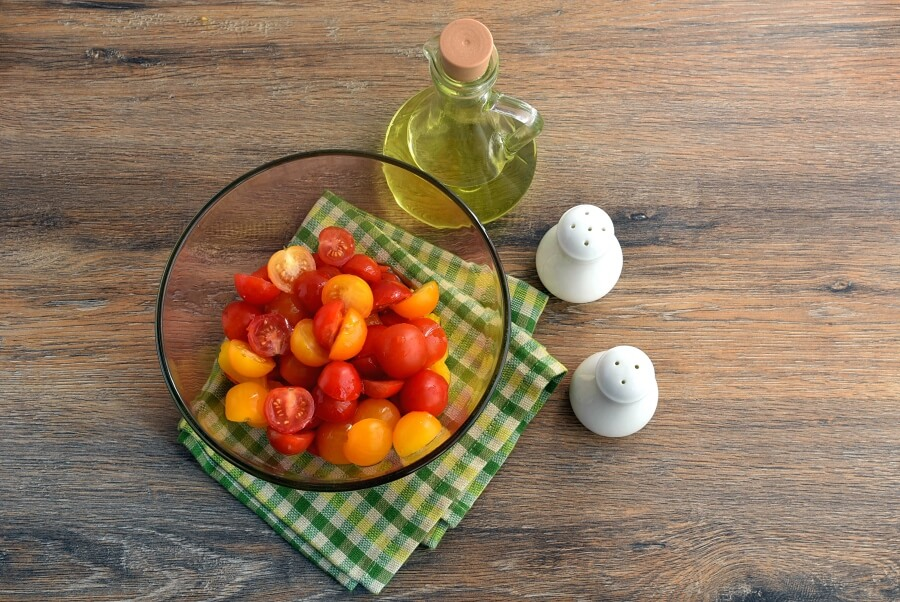 Sweet Corn Polenta and Tomato Salad recipe - step 8
