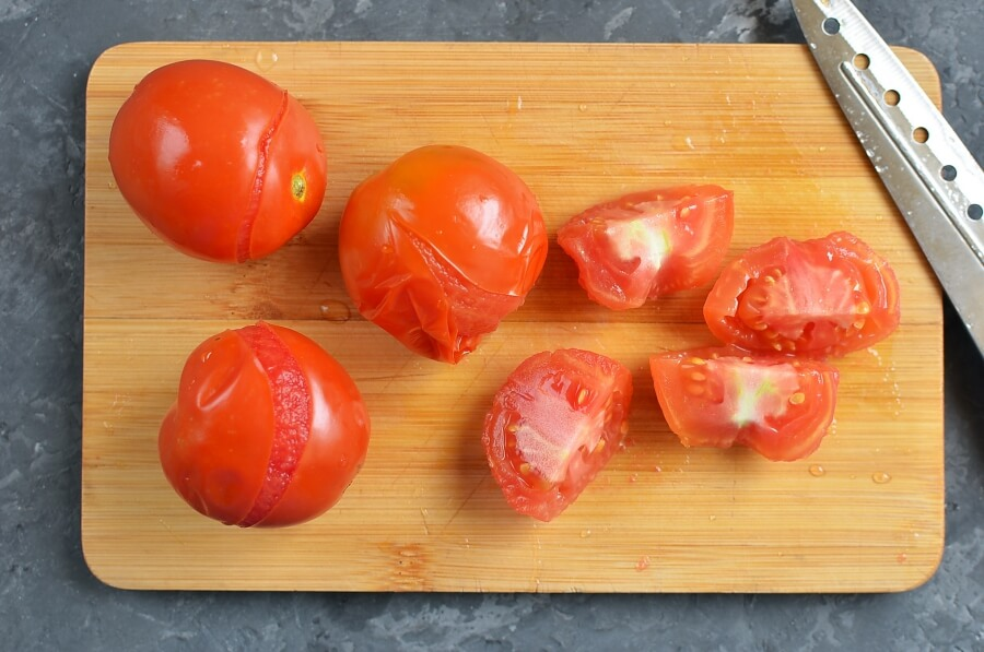 The Best Stewed Tomatoes Ever recipe - step 1
