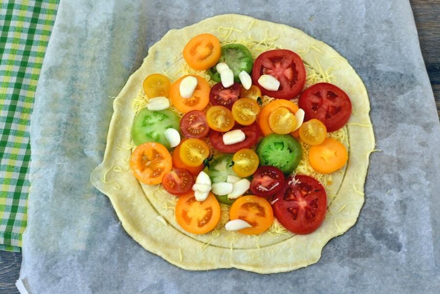 Tomato Galette recipe - step 11