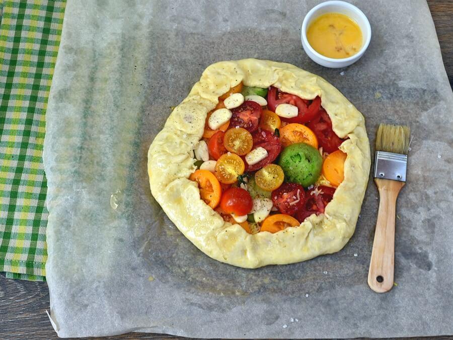 Tomato Galette recipe - step 12