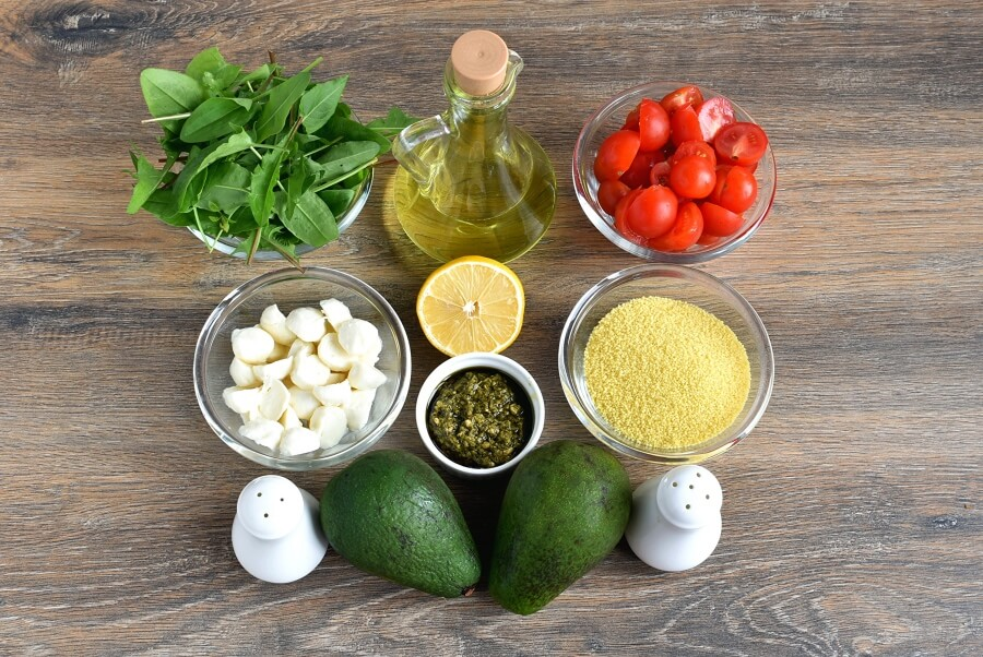 Tricolore couscous salad Recipe-How to make Tricolore couscous salad-Delicious Tricolore couscous salad