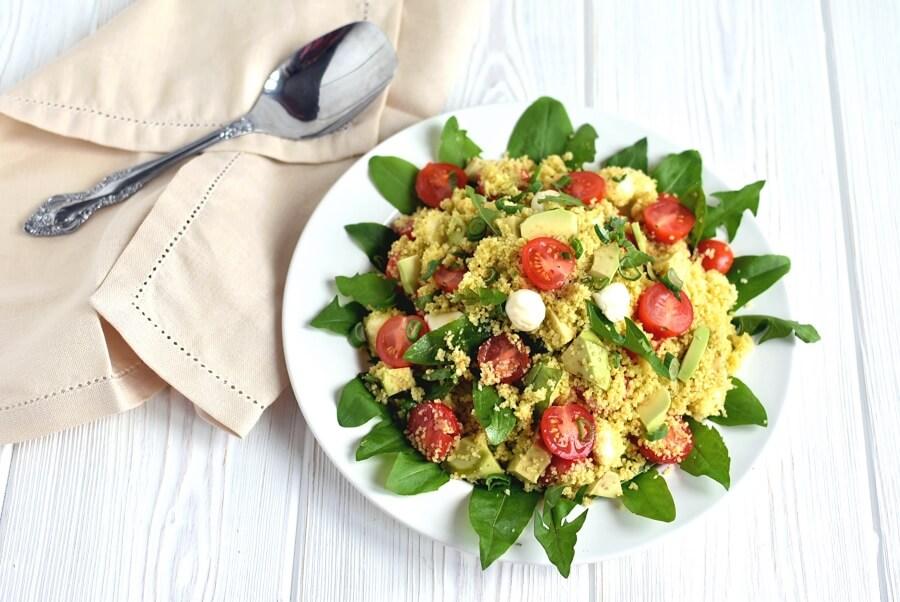 How to serve Tricolore Couscous Salad