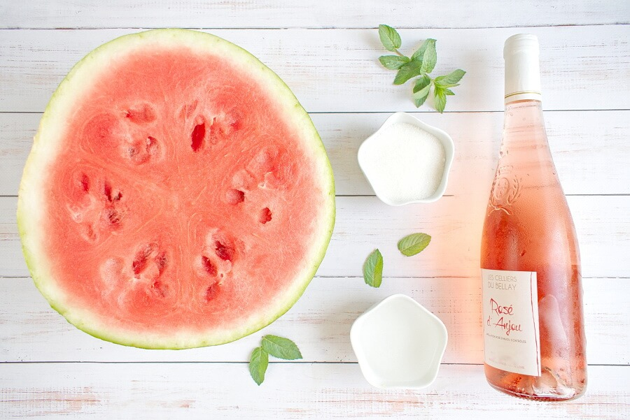 Ingridiens for Watermelon Frose