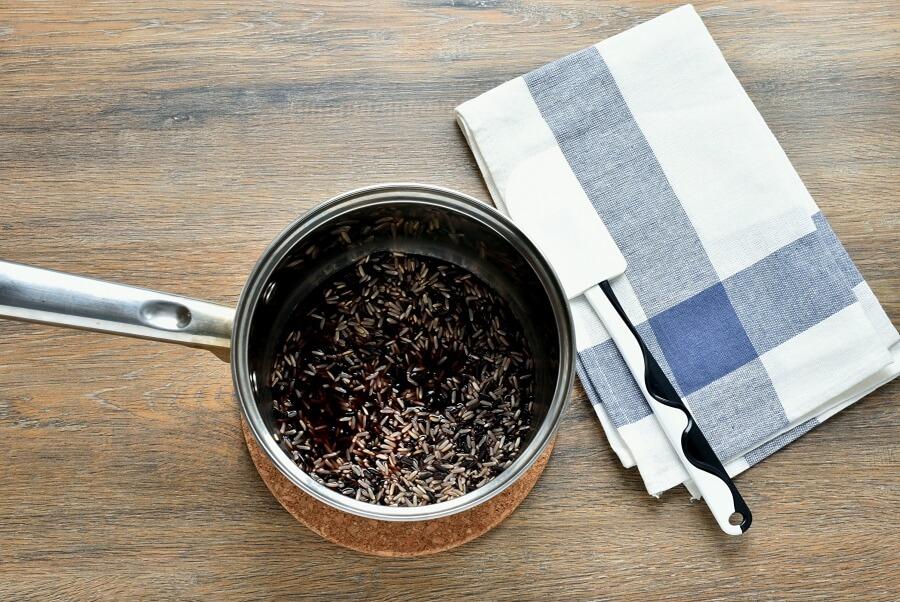 Wild Rice and Feta Salad recipe - step 1