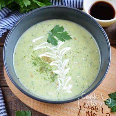 Zucchini Soup with Crеme Fraiche Recipe-How To Make Zucchini Soup with Crеme Fraiche-Delicious Zucchini Soup with Crеme Fraiche