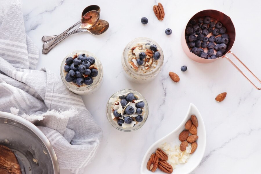5 Ingredient Blueberry Chia Overnight Oats recipe - step 4