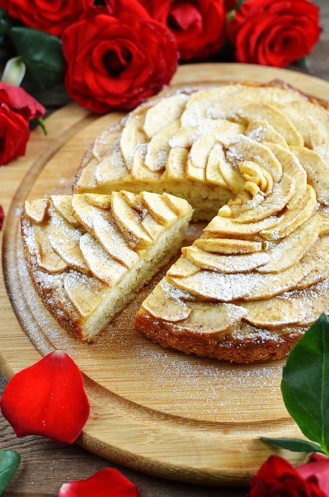 Apple Rose Tart Recipe Cook Me Recipes