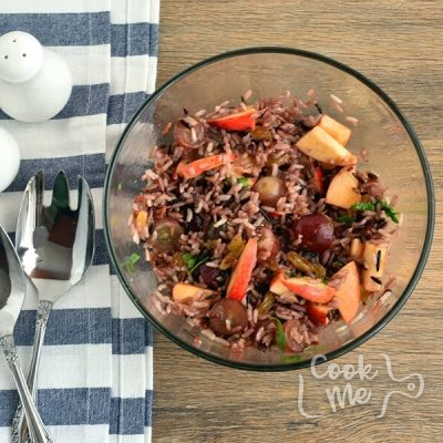 Apple-Wild Rice Salad recipe - step 3