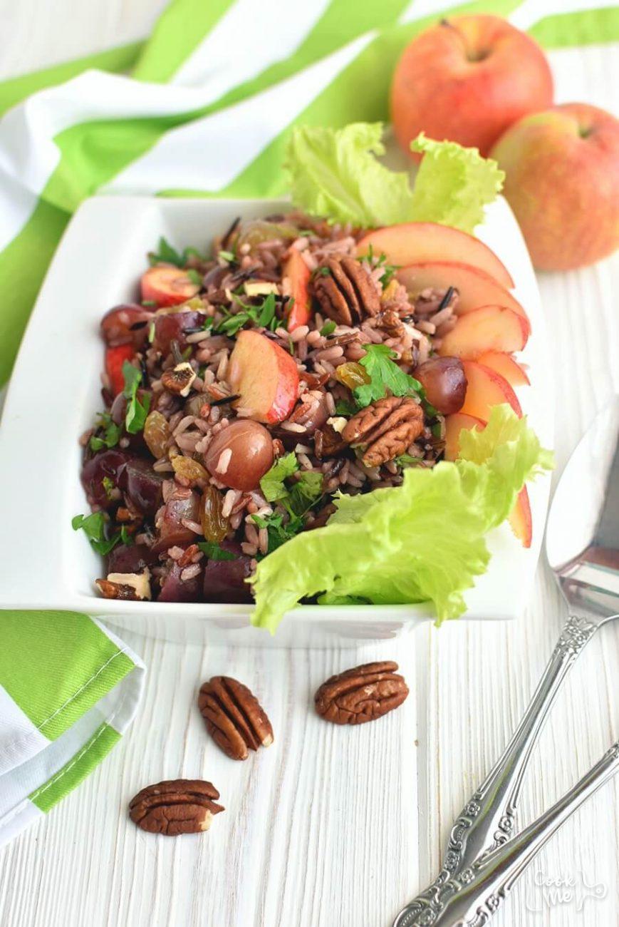Apple-Wild Rice Salad