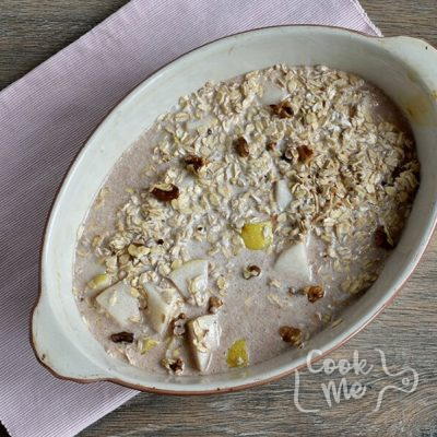 Baked Oatmeal with Pears recipe - step 6