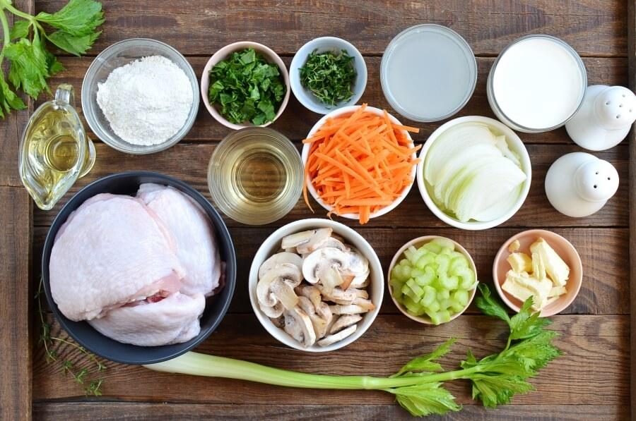 Best Chicken Fricassee Recipe-How To Make Best Chicken Fricassee-Delicious Best Chicken Fricassee