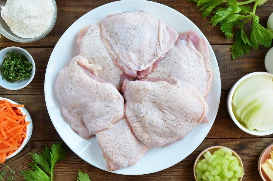 Best Chicken Fricassee recipe - step 2