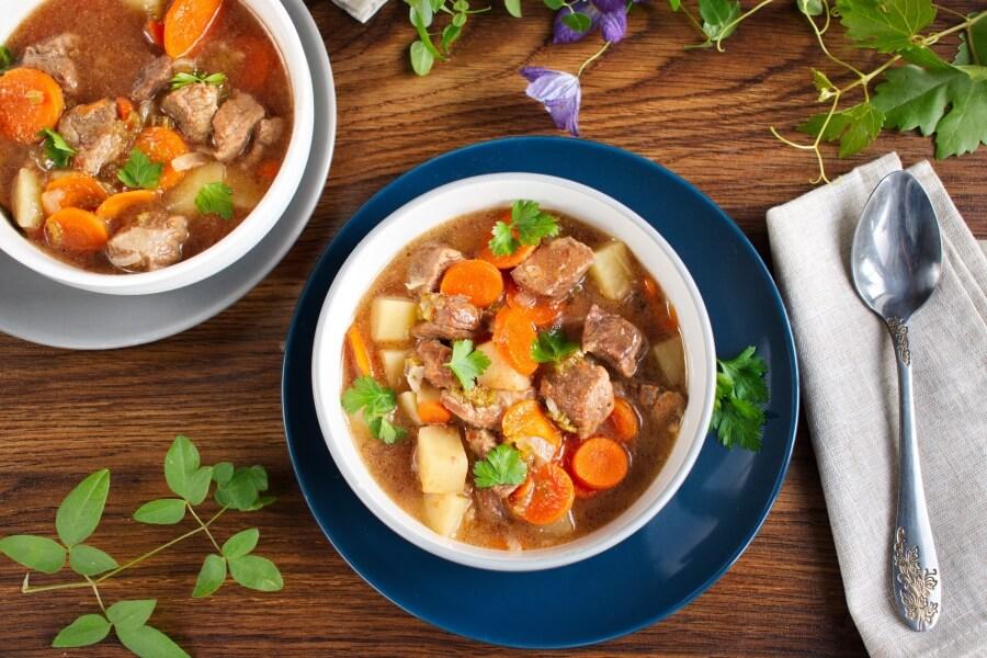 How to serve Best Ever Instant Pot Beef Stew