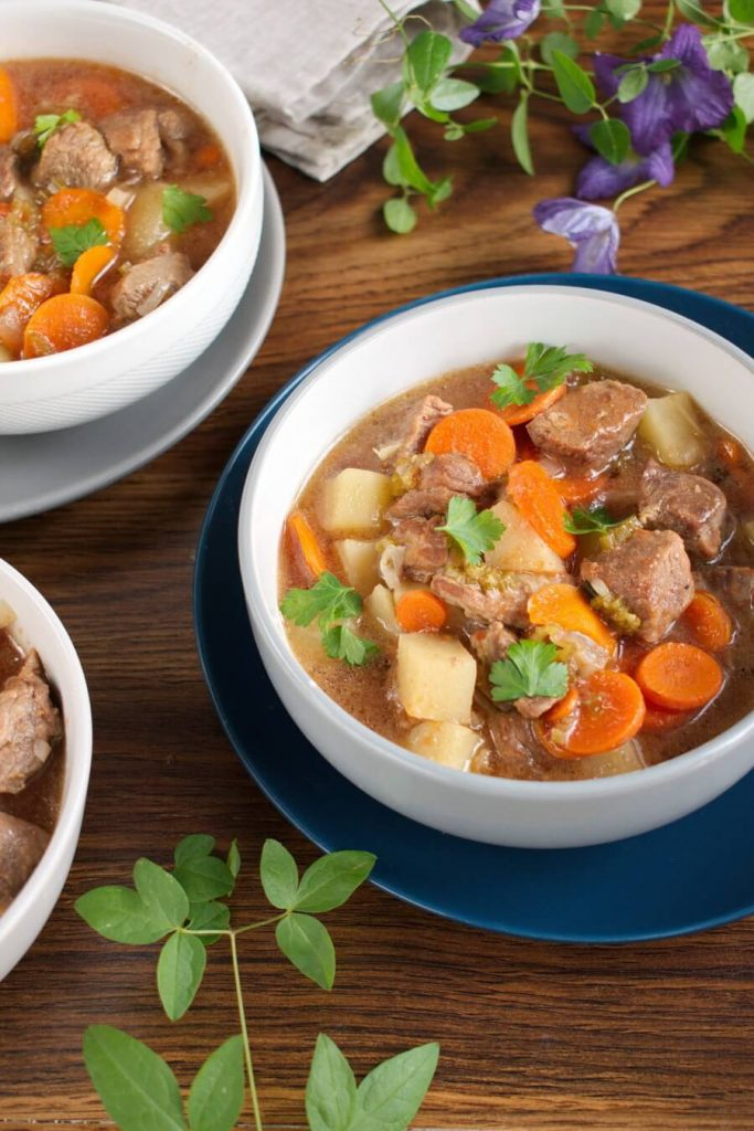 A quick and convenient stew that tastes delicious!