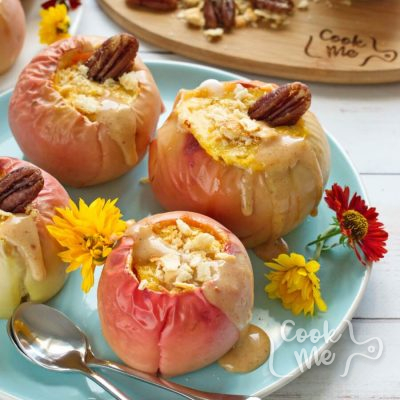 Cheesecake Stuffed Baked Apples recipe-Best Cheesecake Stuffed Apples Recipe-How to make Cheesecake Stuffed Baked Apples
