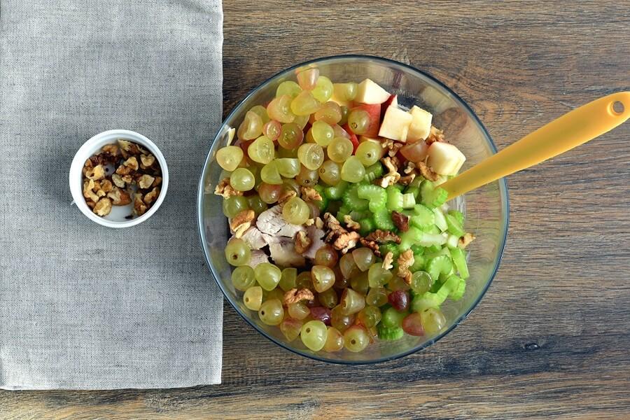 Chicken Waldorf Salad recipe - step 2