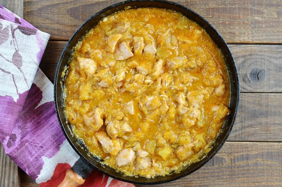 Tasty Chicken and Pumpkin Stew recipe - step 4