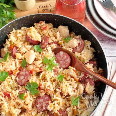 Chicken and Sausage Jambalaya Recipe-How to make Chicken and Sausage Jambalaya-Delicious Chicken and Sausage Jambalaya