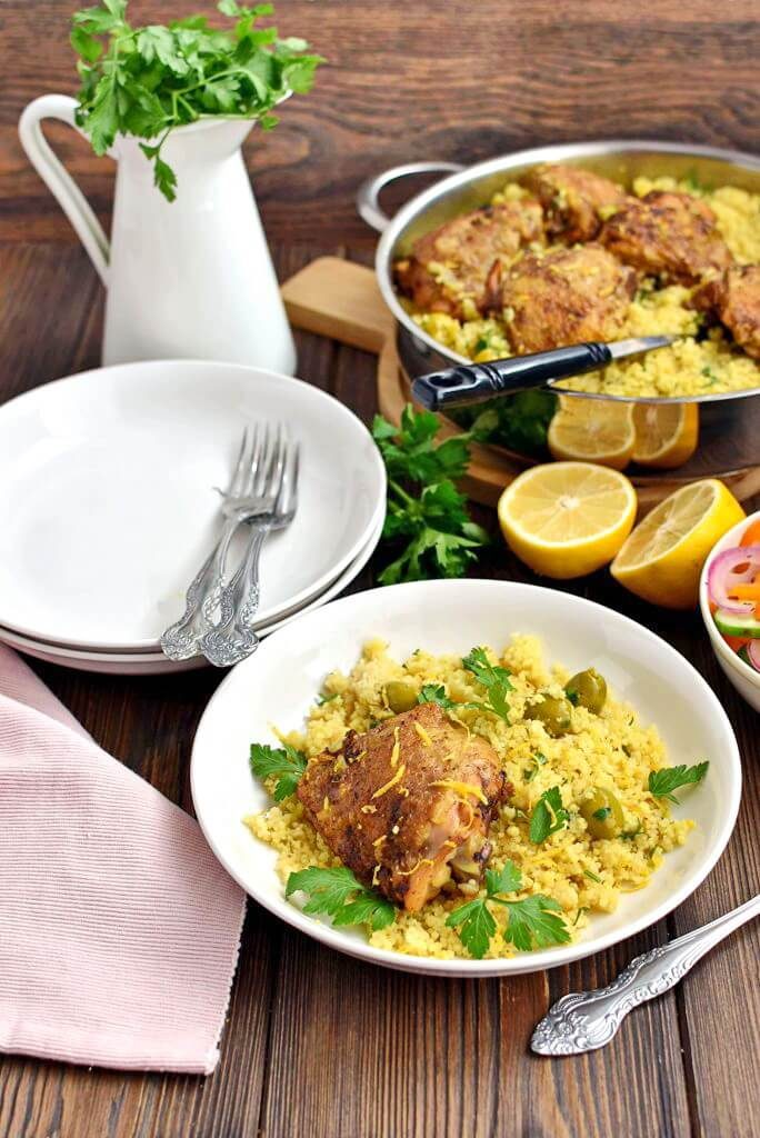 Chicken & Couscous One-Pot