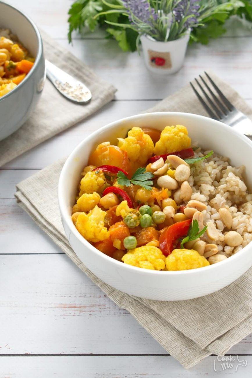 Vegan Chickpea Pumpkin Curry