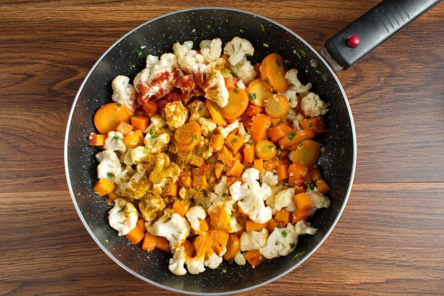 Vegan Chickpea Pumpkin Curry recipe - step 5