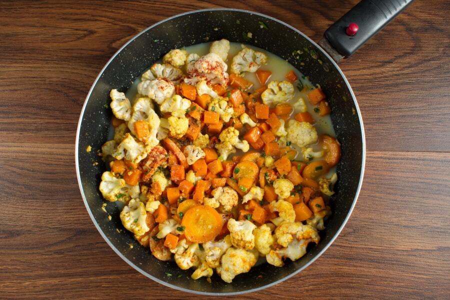 Vegan Chickpea Pumpkin Curry recipe - step 6