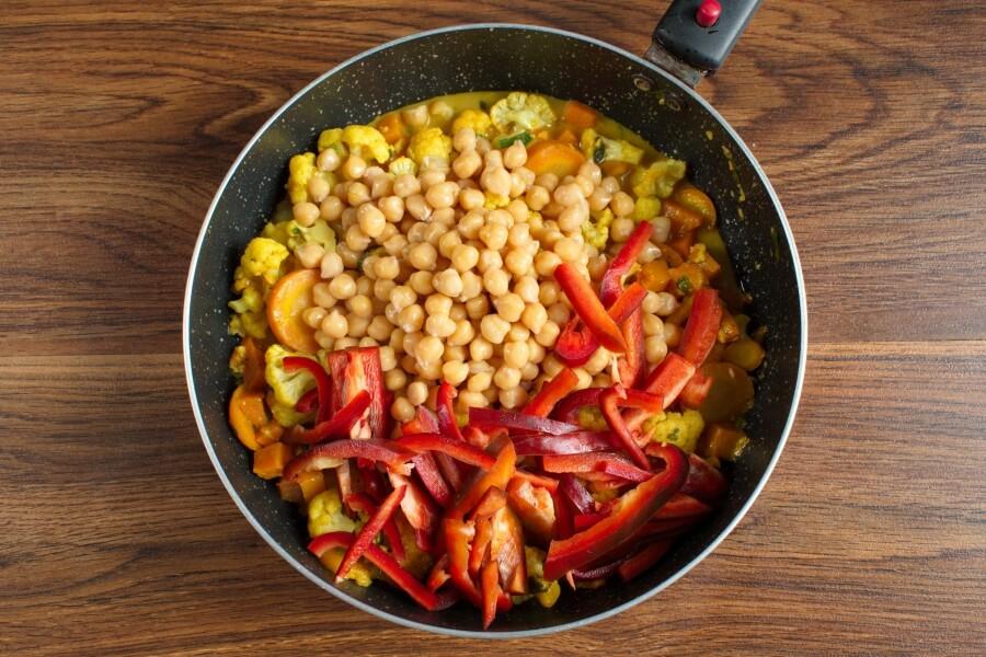 Vegan Chickpea Pumpkin Curry recipe - step 7
