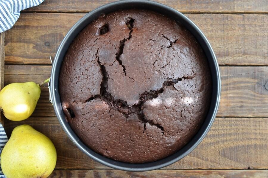 Chocolate Pear Cake recipe - step 8