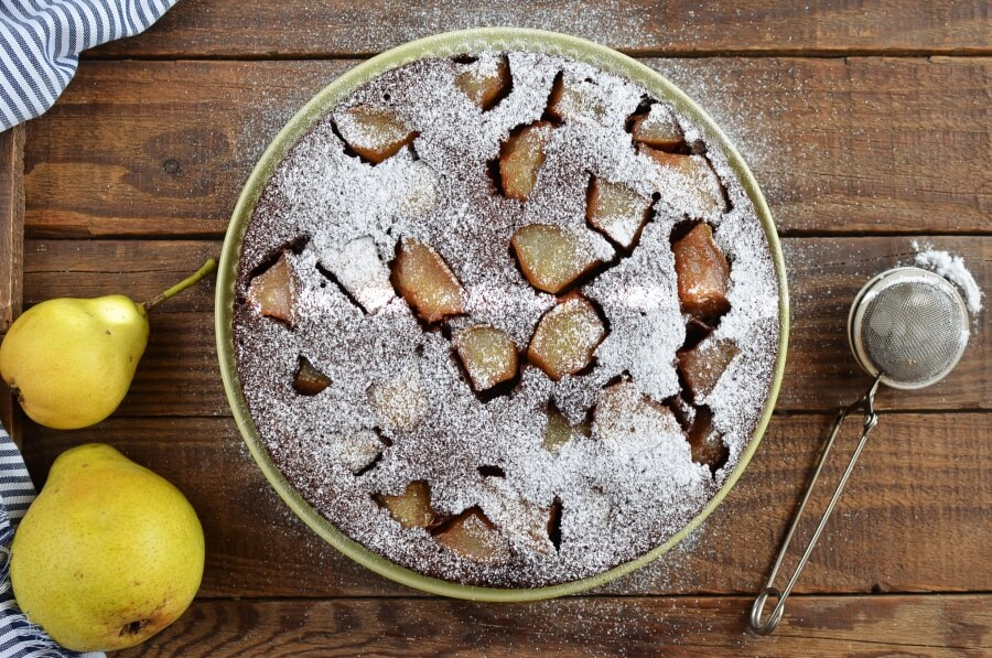 Chocolate Pear Cake recipe - step 9