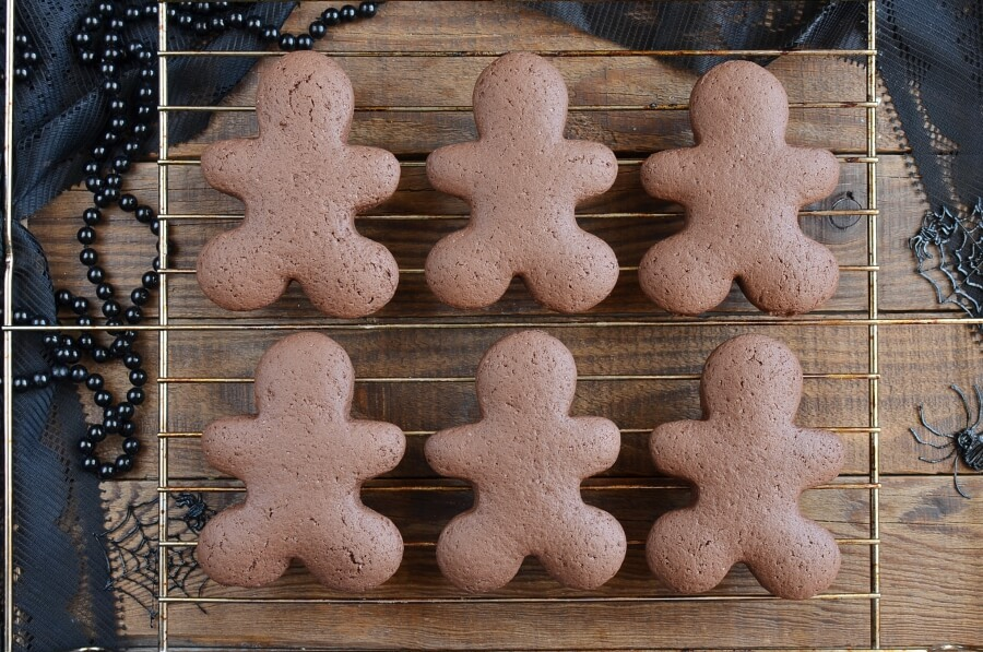 Chocolate Pumpkin Cut out Cookies recipe - step 7
