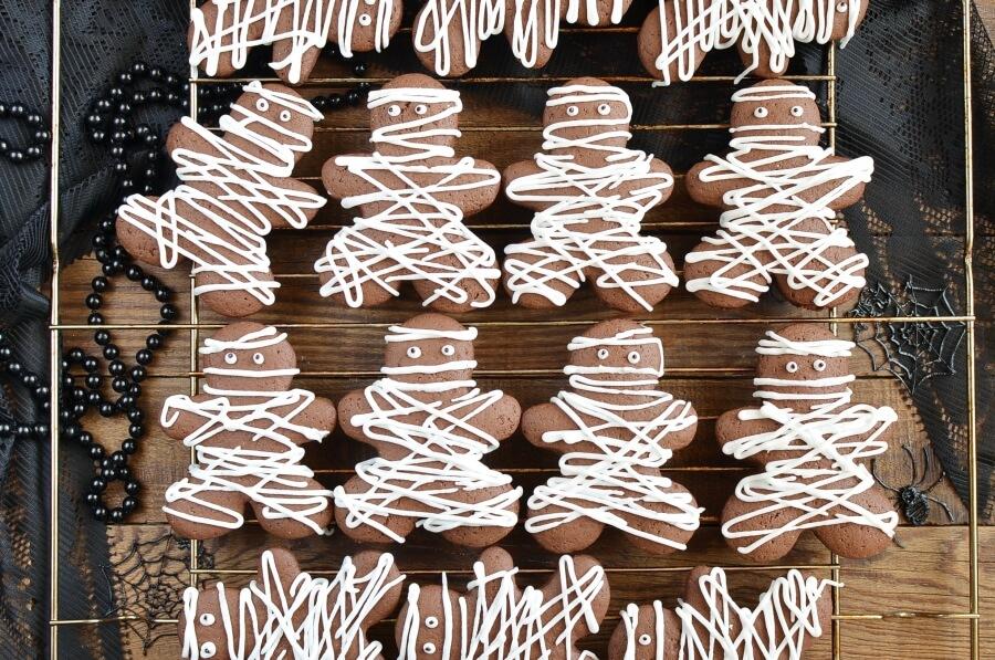 Chocolate Pumpkin Cut out Cookies recipe - step 8