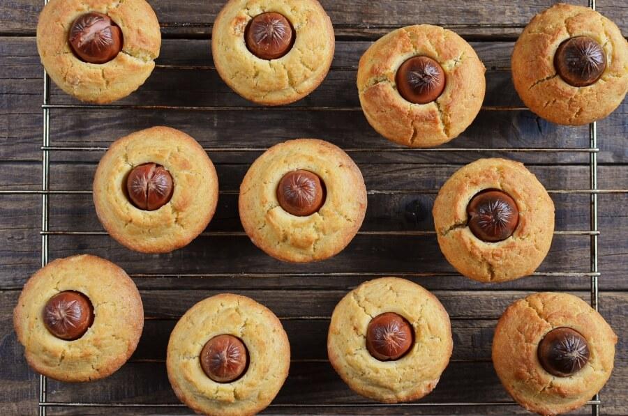 How to serve Corn Dog Mini Muffins