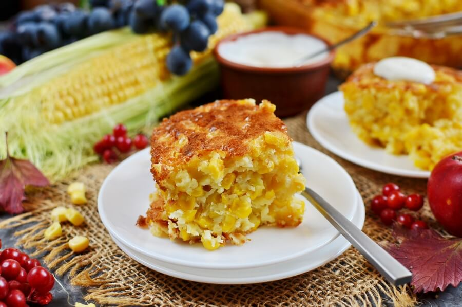 How to serve Corn Pudding