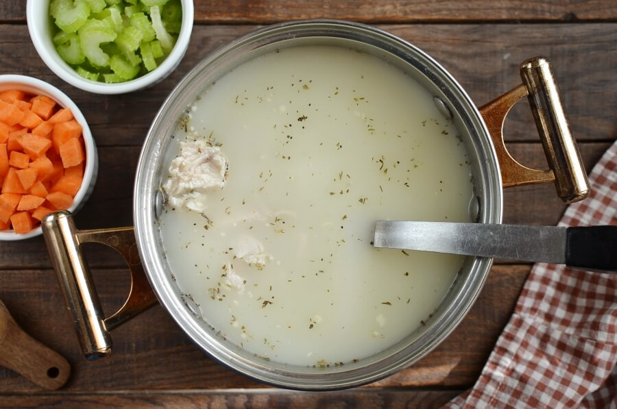 Easy Chicken and Dumplings recipe - step 1