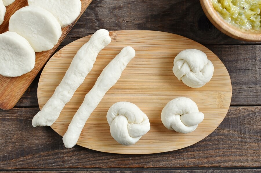 Easy Garlic Parmesan Knots recipe - step 3