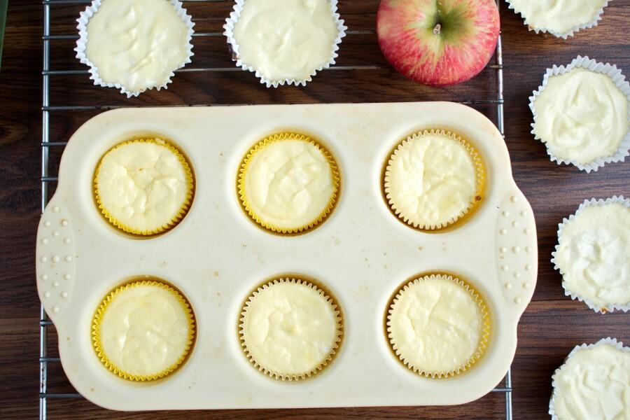 Easy Mini Caramel Apple Cheesecakes recipe - step 5