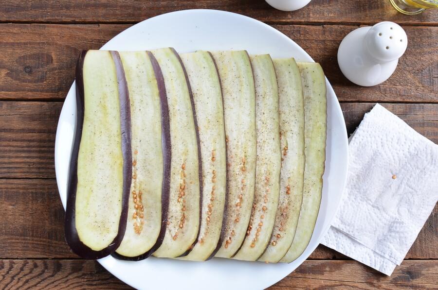 Eggplant & Mozzarella Stick Roll-Ups recipe - step 4
