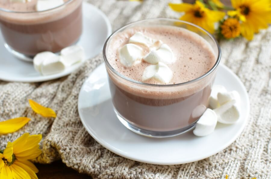 How to serve Fluffy Hot Chocolate
