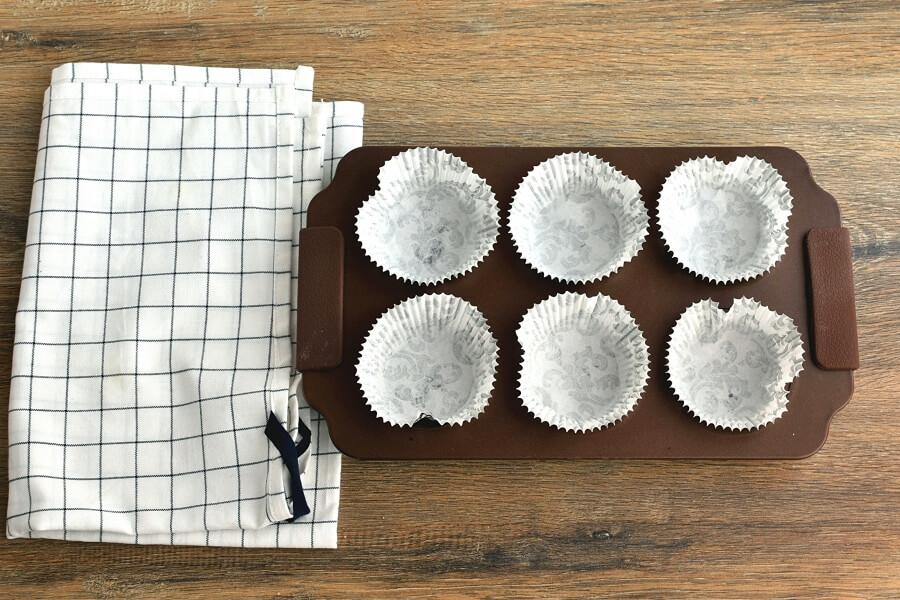 Fresh Apple-Pear Cupcakes recipe - step 1