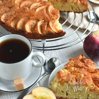 German apple cake Recipe-How To Make German apple cake-Delicious German apple cake