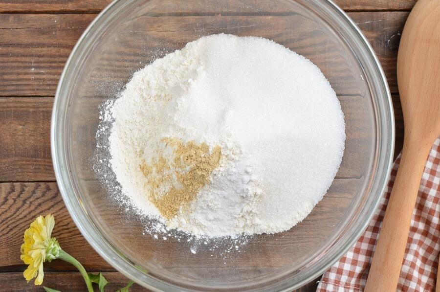 Ginger Sponge Cake recipe - step 2