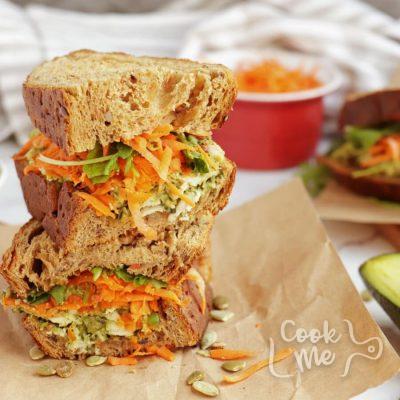 Healthy Pesto, Avocado and Chicken Salad Sandwich Recipe-Healthy Chicken Salad Sandwiches