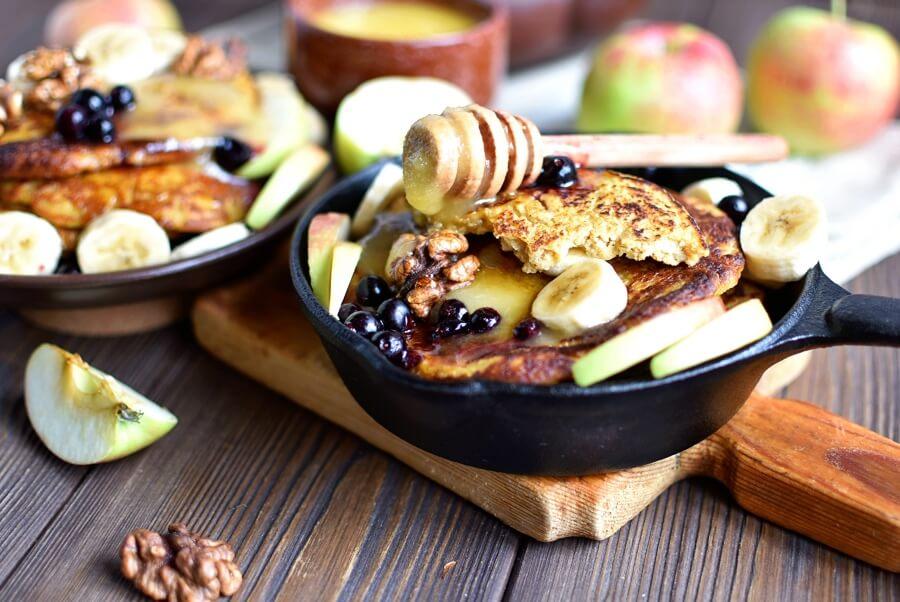 Healthy Pumpkin Pancakes Recipe Recipe-How To Make Healthy Pumpkin Pancakes-Delicious Healthy Pumpkin Pancakes