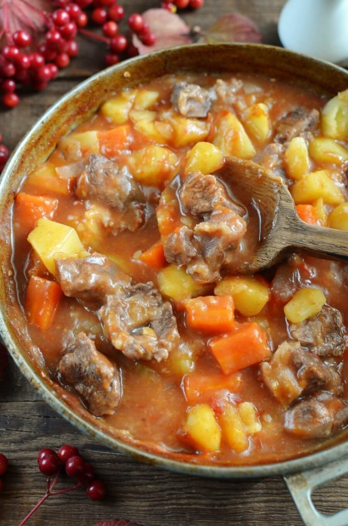 A tasty stew for a chilly day