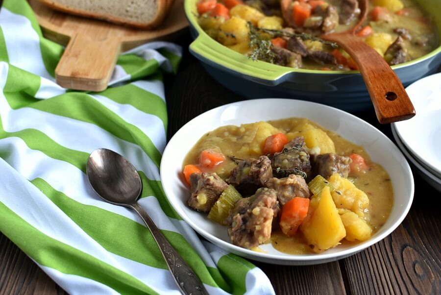 How to serve Homemade Apple Cider Beef Stew