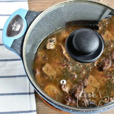 Homemade Apple Cider Beef Stew recipe - step 2
