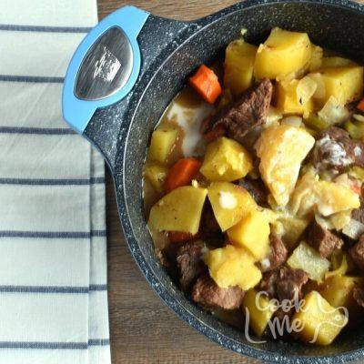Homemade Apple Cider Beef Stew recipe - step 4