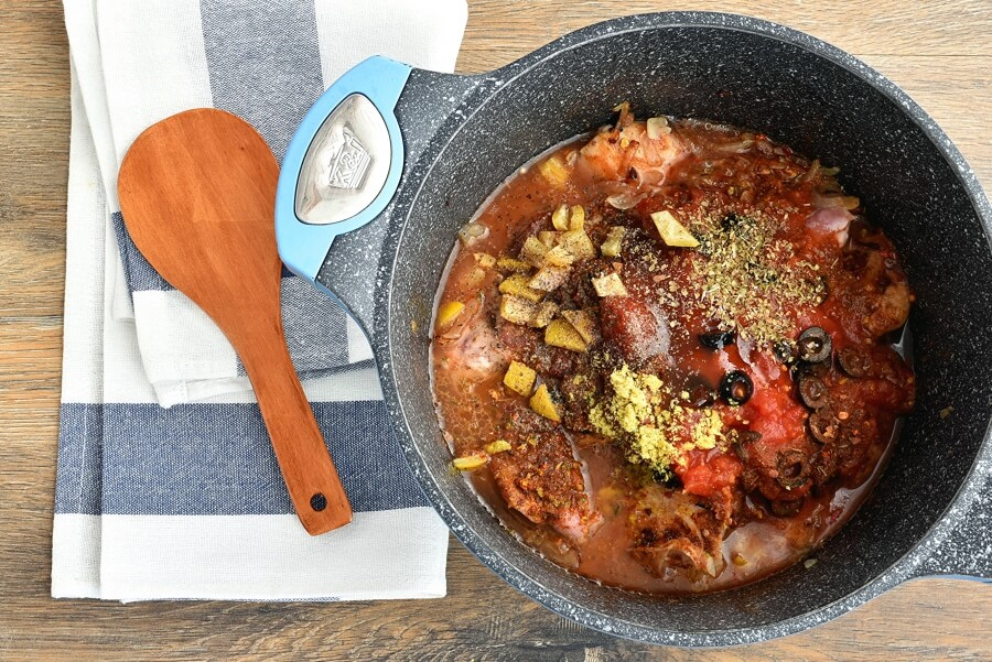 Lemony Chicken Stew with Giant Couscous recipe - step 3