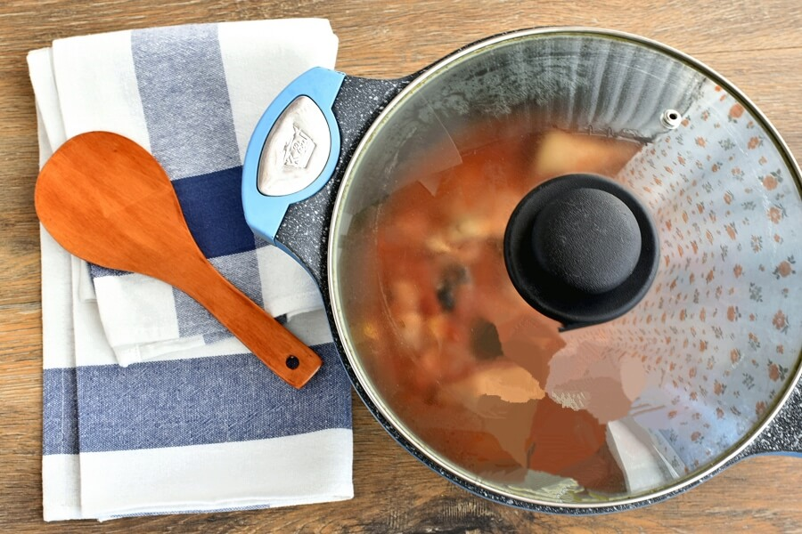 Lemony Chicken Stew with Giant Couscous recipe - step 4